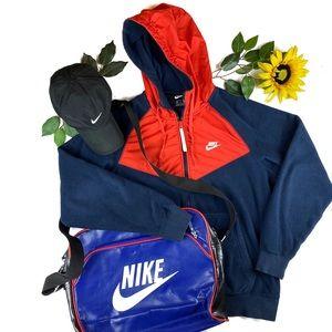 Nike SportsWear Hooded Full Zip Fleece Jacket